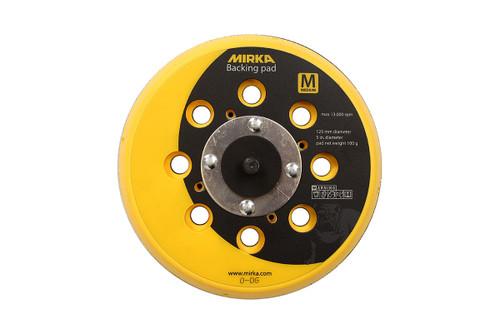 """Mirka 915GV28 - 5"""" Grip Faced Multi-Hole Vacuum Pad"""