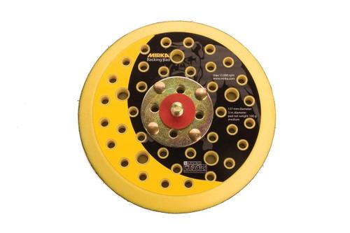 """Mirka 915GV - 5"""" Grip Faced Multi-Hole Vacuum Pad"""