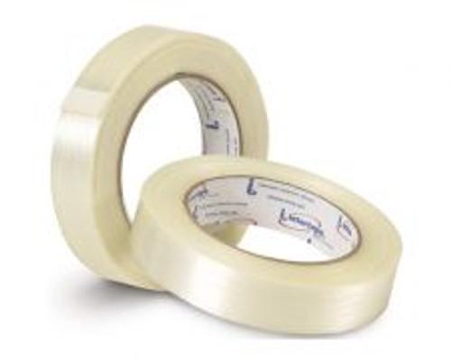 Intertape RG300 - 24 MM X 54.80 M 110# BOPP Utility Natural Filament Tape - RG300.41                                                                               (36 Rolls)