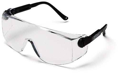 Pyramex SB1010S Defiant Safety Glasses, Frame: Black, Lens: Clear (12 Pair)