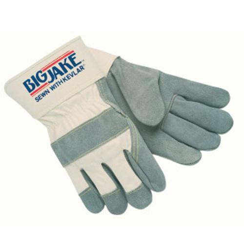 Memphis 1700 Big Jake Leather Palm Gloves, Size Medium (12 Pair)