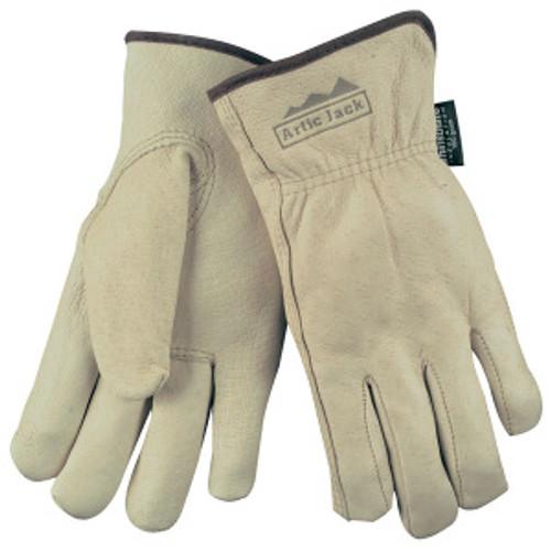 Memphis 3460L Gloves, Artic Jack, Premium Grain Pigskin Drivers, Size Large (12 Pair)