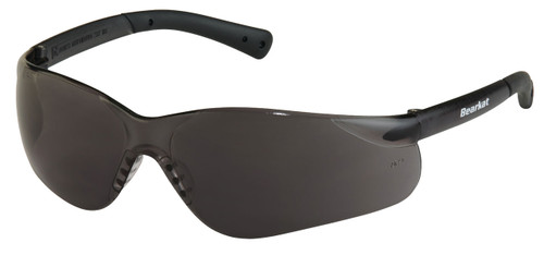 Crews BK312 Bearkat Safety Glasses Gray Temples with Gray Lens (12 Pair)