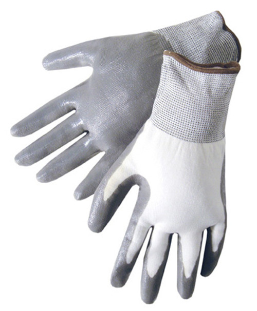 Liberty 4630C Q-Grip Nylon Shell Nitrile Coated Work Gloves Size S (12 Pair)