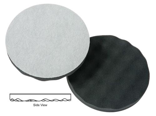 "Lake Country WP-72800 8"" CCS Black Finishing - Waffle Pro Foam Polishing Pad"