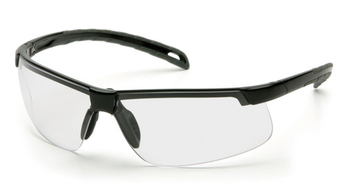 Venture Gear EverLite Range VGCOMBO8610 Safety Glasses Black/Clear Lens with Black Ear Muffs