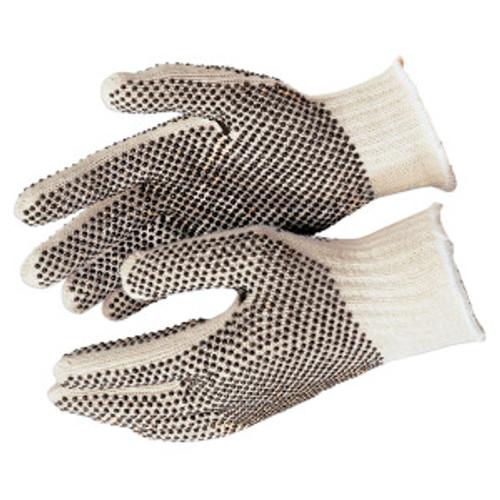 Memphis 9660SM Glove PVC Dot String Knit Gloves Size Small (12 Pair)