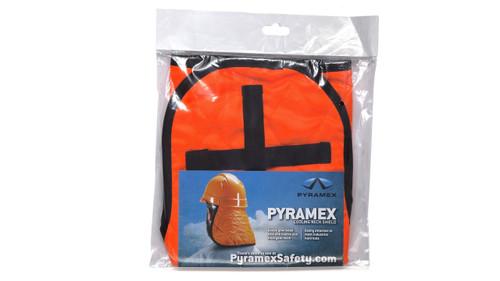 Pyramex CNS140 Hi-Vis Orange Cooling Hard Hat Pad & Neck Shade, (1 Each)