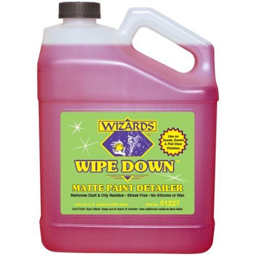 Morgan Distribution - 1227 Wizards Wipe Down Matte Paint Detailer (04-671620)