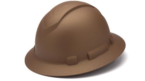 Pyramex HP54118 Ridgeline Copper Pattern Full Brim Standard Ratchet Hard Hat (12 Each)