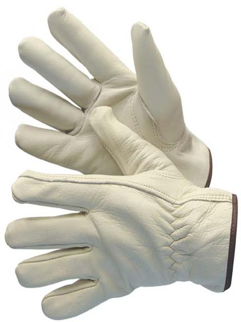 Major Glove 32-1383AB Cowgrain Driver Gloves, Size XLarge (12 Pair)