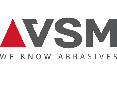 VSM XF760 5 x 7/8 Ceramic Fiber Sanding Disc 24 Grit