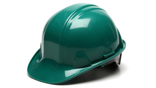 Pyramex HP16135 SL Series Cap Style Green 6-Point Ratchet Hard Hat (16 Each)
