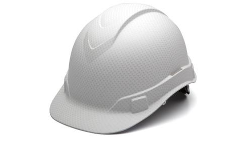 Pyramex HP44116  Ridgeline Matte White Graphite Pattern Cap Style Hard Hat (1 Each)