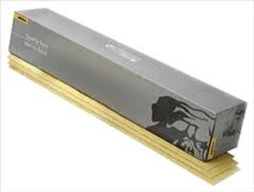 "Mirka 23-663-036 - Bulldog Gold 2-3/4"" x 16-1/2"" Grip File Sheet 036 Grit (Qty 50 per pk/bx)"