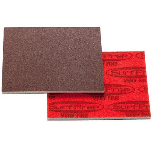 Dixon SPRF5R100 - 3″ X 4″ 5mm Premium Red A/O Foam Pads (200/box) (08-001110.200)