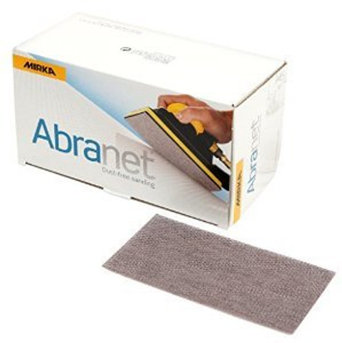 "Mirka 9A-178-100 Abranet® 3.2"" x 5.2"" AO, Grip Sheet 100 Grit (50/Box)"
