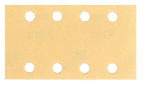 "Mirka 23-688-100- Bulldog Gold 3.2"" x 5.2"" 8-Hole Grip 100G (50 Sheets/Box)"