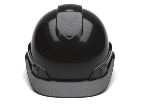 Pyramex HP44117S Ridgeline Shiny Black Cap Style Standard Ratchet Hard Hat (1 Each)