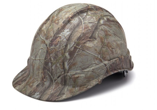 Pyramex HP44119 Ridgeline Matte Camo Cap Standard Ratchet Hard Hat (1 Each)