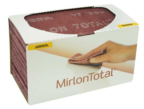 """Mirka 18-118-447 Mirlon Total 4-1/2"""" x 9"""" VF 360G,Nonwoven Scuff Pad, 25/Pkg"""