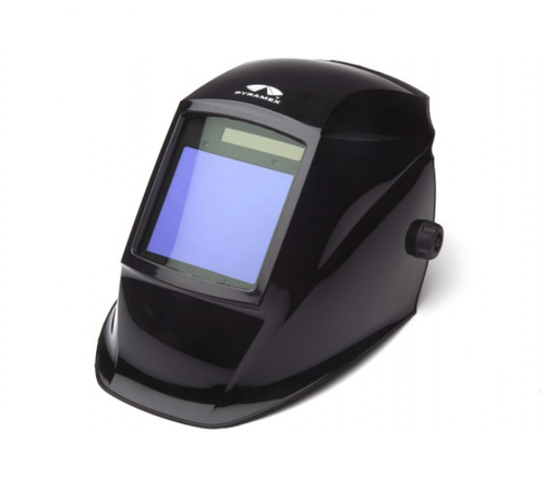 Pyramex - WHAM3030GB Leadhead Auto-Darkening Helmet, Glossy Black(Qty. 1)