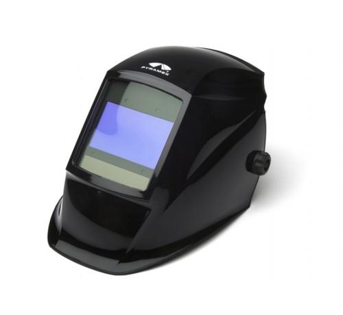 Pyramex WHAD6030GB Leadhead Auto-Darkening Helmet, Glossy Black (Qty. 1)