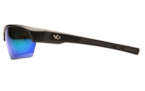 Pyramex Venture Gear Tensaw VGSB331 Safety Glasses Green Mirror Polarized Lens w/ Black Frame, (1 Pair)