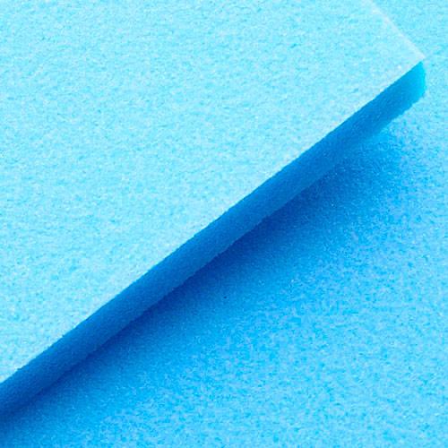 Hermes 3 -7/8 x 4- 7/8 Blue Sanding Sponge Single Sided 180 Grit, 250/Box