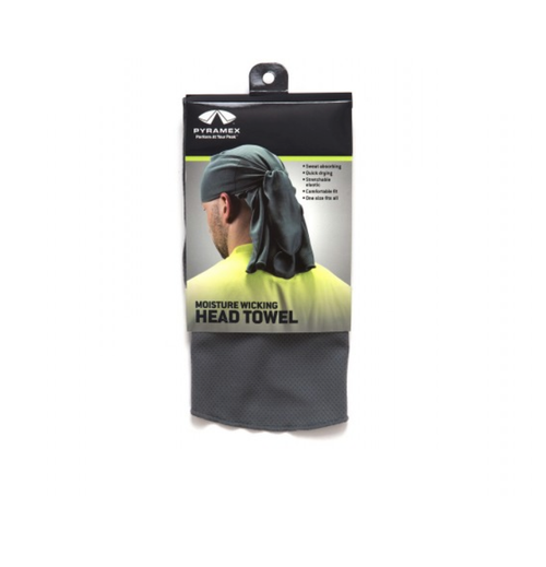 Pyramex CSKT212 Gray Moisture-Wicking Skull Cap with Ties (Qty. 1)