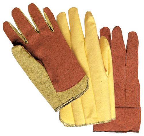 Memphis Gloves 9811L Vinyl Impregnated Glove, Size Large (12 Pair)