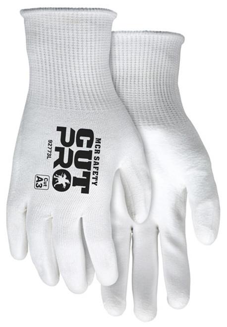 MCR Safety 92773M Cut Pro 15 Gauge Hypermax Shell Gloves, Size Medium (12 Pair)