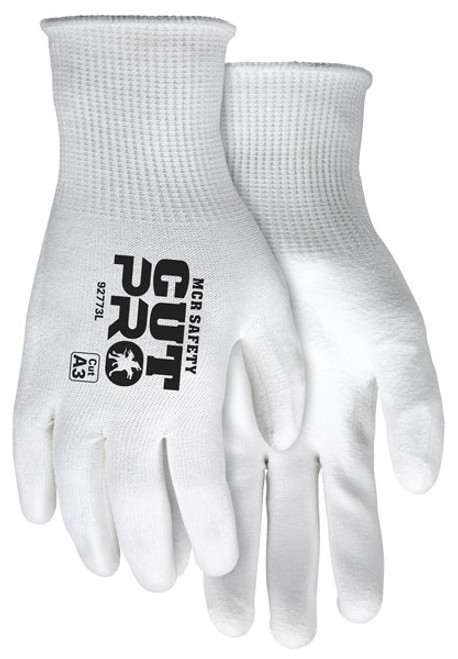 MCR Safety 92773L Cut Pro 15 Gauge Hypermax Shell Gloves, Size Large (12 Pair)