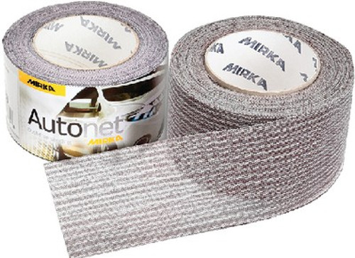 "Mirka Autonet 2-3/4"" X 10 Yards Auto Body Sanding Shop Roll - 180 GRIT (1 Roll)"
