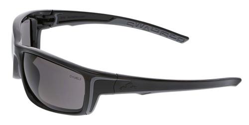 MCR Safety - Swagger® SR422 Gray Lens w/ Black Frame, w/ Gray TPR (12 pr)