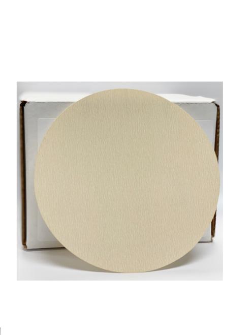 """Elite White Plus 5"""" Non-Vac Grip Discs, 320G (100/box)"""