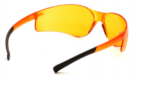 Pyramex S2540S Ztek Safety Glasses, Frame: Orange, Lens: Orange (1 Pair)