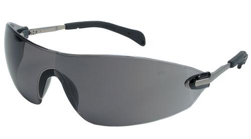 Crews S2212 Blackjack Elite Safety Glasses Chrome Temple Gray Lens (12 Pair)
