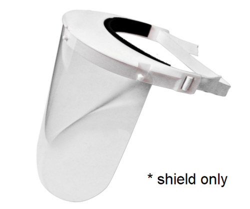 Pyramex S1000R - Medical Shield Replacements for S1000 (20/pk)
