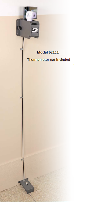 Dynabrade 62111 Dyna-Fast Foot Activated Screening Thermometer DynaFast Foot Activated Screening Thermometer, No Thermometer Included