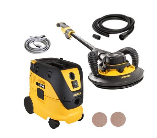 "Mirka MIW950-DE1230-4, 9"" LEROS  Dust Free Solutions Kit"