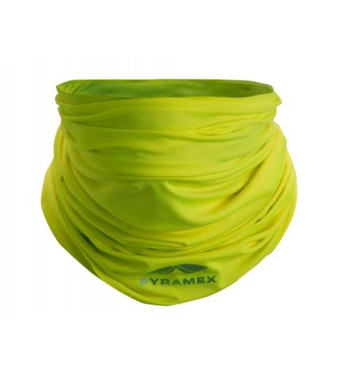 Pyramex MPB10 Cooling Face Mask, Hi-Vis Lime (Qty. 1)