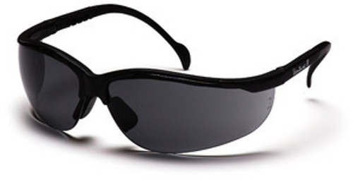 Pyramex Venture II SB1820S Safety Glasses Black/Grey (12 Pair)