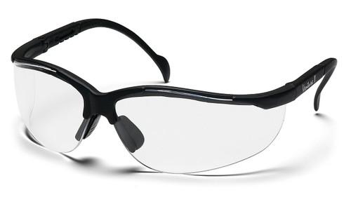 Pyramex SB1810ST Venture II Safety Glasses, Frame: Black, Lens: Clear Anti-Fog (12 Pair)
