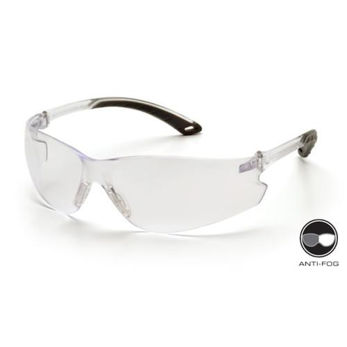 Pyramex S5810ST Itek Safety Glasses, Frame: Clear, Lens: Clear Anti-Fog (12 Pair)