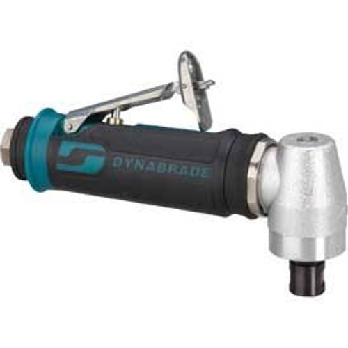 "Dynabrade 48315 - .4 hp Right Angle Die Grinder (Replaced 52315), 12,000 RPM, Geared, Rear Exhaust, 1/4"" Collet (1 Each)"
