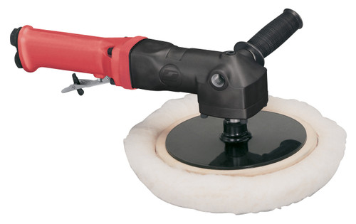 """Dynabrade 18050 - 5""""-8"""" (127 mm-203 mm) Dia. Autobrade Red Right Angle Buffer, .7 hp, 0-2,500 RPM"""