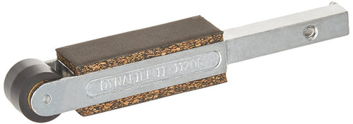 """Dynabrade 11206 Contact Arm 3/4"""" or 5/8"""" X 18"""" Belts W, Rubber Wheel Dynafile"""