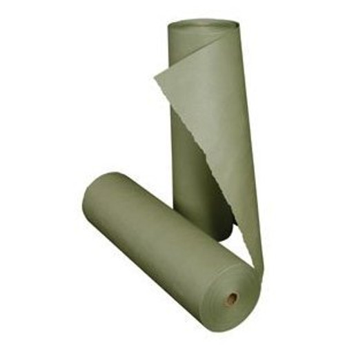 "18"" x 1000' Green Auto Body Masking Paper (2 Rolls)"