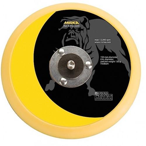"""Mirka 106 - 6"""" Vinyl Faced Backup Pad"""